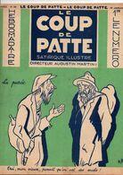 LE COUP DE PATTE JOURNAL SATIRIQUE ILLUSTRE N°36 JANVIER 1932 - Politics