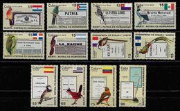 CUBA 2010. MARTÍ. PATRIA ES LIBERTAD. EDIFIL 5546/57 - Nuevos