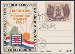 Luxembourg, 1945, Commemorative Card - Covers & Documents