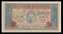 -CHER EN OCTOBRE  * ATTENTION * 50 Dong De 1947 * FÉDÉRATION INDOCHINOISE* Collection. Billet De Banque - Indochina