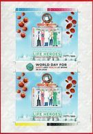 PANDEMIC GLOBAL 2020 WORLD DAY FOR SAFETY & HEALTH - FIGHT THE VIRUS - COVID-19.LIMITED EDITION - Indonésie
