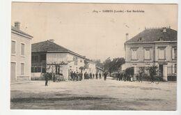 Sabres ( Landes) Rue Bordelaise, Animée - Vieux Boucau