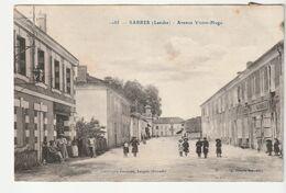 Sabres ( Landes) Avenue Victor Hugo, Gendarmerie Nationale, Animée - Vieux Boucau