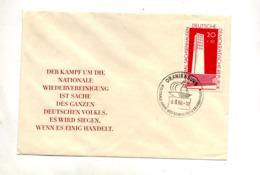 Lettre Cachet Oranienburg Memorial - Marcofilie - EMA (Print Machine)