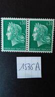 """FRANCE  N°1536A** VARIETE """"pli Accordéon"""" - Curiosités: 1960-69 Neufs"""