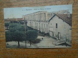 Carte Assez Rare De 1909 En Couleur , Hannonville , Ruines Du Château De Calonne - Francia