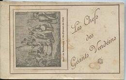 CPA - Les CHEFS Des GEANTS VENDEENS - Thème CHOUANNERIE - Carnet De 10 Vues Complet - Edition M.Chrétien Angers - History