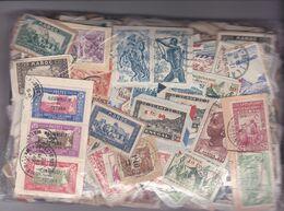 200 Grs Timbres Des Ex-colonies Françaises Avant Indépendance Petits Et Grand Formats Sur Fragments - Lots & Kiloware (mixtures) - Max. 999 Stamps