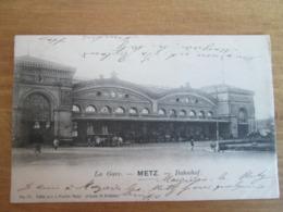 Metz  .  La Gare . Bahnhof - Metz