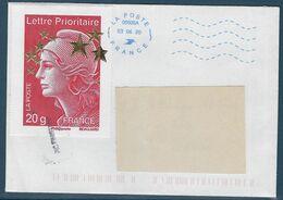 France 2012 - Marianne De Beaujard 4662 F Oblitéré Sur Enveloppe - Gebraucht