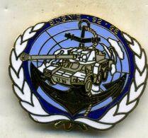 Insigne, 1é RIMA,2é Escadron Blindée BOSNIE 92-93___J.Y.S - Army