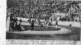 ATHENES LE STADE JEUX OLYMPIQUES 1906 LA LUTTE - Greece