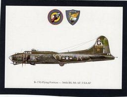 B-17G Flying Fortress  -  366th BS, 8th AF, USAAF  -  CPM - 1939-1945: 2a Guerra