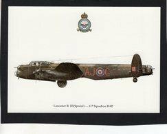 Lancaster B.III (Special)  -  617 Squadron RAF  -  CPM - 1939-1945: 2a Guerra