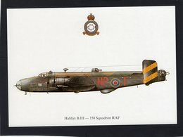 Halifax B.III  -  158 Squadron RAF   -  CPM - 1939-1945: 2a Guerra