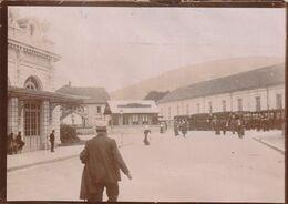 Photo Vers 1909 GERARDMER - Le Boulevard Kelsch - Gare Du Tramway De La Schlucht (A223) - Gerardmer