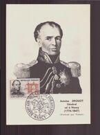 """France, Carte Avec Cachet Commémoratif """" Congrès Philatélique """" Du 20 Mai 1961 à Nancy - Commemorative Postmarks"""