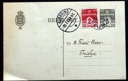 Denmark 1915 Postal Stationery  EB 31 S.Tornby 30-1-1915 Hjørring   ( Lot 281) - Ganzsachen