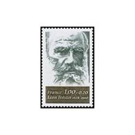 Timbre N° 1989 Neuf ** - Personnages Célèbres. Léon Tolstoi. - Francia