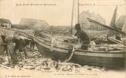 SAINT PIERRE Et MIQUELON  Retour De Pêche à La Morue - Saint-Pierre-et-Miquelon