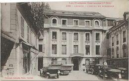 D 31  LUCHON  L'Hotel De Bordeaux(Voitures) - Luchon