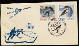 USSR Moscow 1960 / Olympic Games Squaw Valley 1960 / Speed Skating, Ice Hockey, Ski Jumping - Winter 1960: Squaw Valley