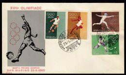 San Marino 1960 / Football, Soccer, Athletics, Fencing, Field Hockey / Olympic Games Rome 1960 - 1982 – Espagne