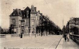 BRUSSEL / BRUXELLES / AVENUE DE LA COURONNE / TRAM / TRAMWAYS 1914 - Corsi