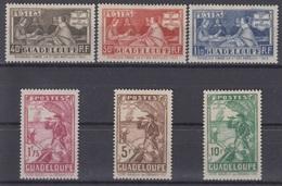 GUADELOUPE : SERIE CENTENAIRE DES ANTILLES N° 127/132 NEUVE * GOMME CHARNIERE - Guadeloupe (1884-1947)