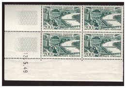 Coin Daté Poste Aérienne N° 25 BORDEAUX - 1940-1949