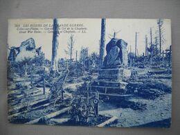 2184  Carte Postale  Ruines De La Grande Guerre   CELLE Sur PLAINE Cimetière Du Col De La CHAPLOTTE     88 Vosges - Andere Gemeenten