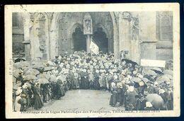 Cpa Du 22 Tréguier Pélerinage De La Ligue Patriotique Des Françaises Le 2 Juillet 1908   AVR20-173 - Tréguier