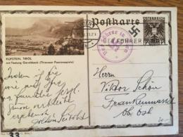 III. Reich, Der FÜHRER  In WIEN, Bildpostkarte KUFSTEIN - Weltkrieg 1939-45