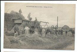Allainville Battage Du Grain , Prix Revu - Andere Gemeenten