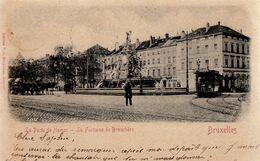 BRUSSEL / BRUXELLES / PORTE DE NAMUR / TRAM / TRAMWAYS  1902 - Piazze