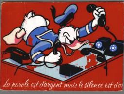 CPM Walt Disney - Donald Duck - Carte Avec Feutrine - Autres