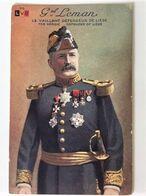 Oude KEUR Postkaart 1914-18 Van General Gerard LEMAN ° 8/1/1851/ Carte Postale 14-18 Général G. LEMAN - Liege