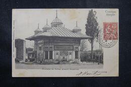 LEVANT FRANÇAIS - Affranchissement Type Mouchon De Constantinople Sur Carte Postale En 1904 Pour Paris - L 68883 - Lettres & Documents