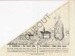 Bedevaartvaantje MOERBEKE/Geraardsbergen - H. Cornelius  (A10) - Religion & Esotericism