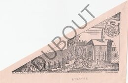 Bedevaartvaantje EDELARE/KERSELARE/Oudenaarde - OLV Van Kerselare  (A6) - Religion & Esotérisme