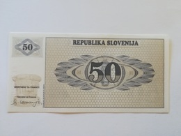 SLOVENIA 50 TOLARJEV 1990 - Slovenia
