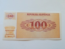 SLOVENIA 100 TOLARJEV 1990 - Slovenië