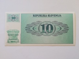 SLOVENIA 10 TOLARJEV 1990 - Slovenië