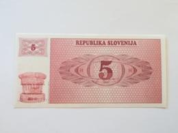 SLOVENIA 5 TOLARJEV 1990 - Slovenië