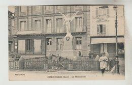 CPSM CORMEILLES (Eure) - Le Monument - Frankreich
