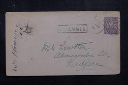 "AUSTRALIE - Entier Postal Du New South Wales En 1894 , Cachet "" Unclaimed "" - L 68899 - Briefe U. Dokumente"