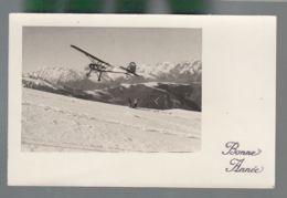 CP - Av - Morane 500 - Fieseler Storch - Les Agudes - 1939-1945: 2de Wereldoorlog