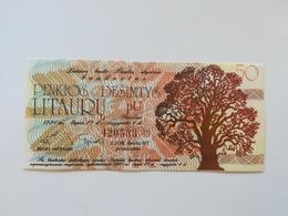 LITUANIA 50 LITAURU  1991 - Lithuania