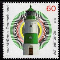Germany - 2020 - Schleimünde Lighthouse - Mint Stamp - BRD