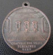 Médaille Religieuse En Cuivre - Chapelle Des Trois Fontaines De Rome / St PAUL - Diam. 26mm, 7,5g - Religión & Esoterismo
